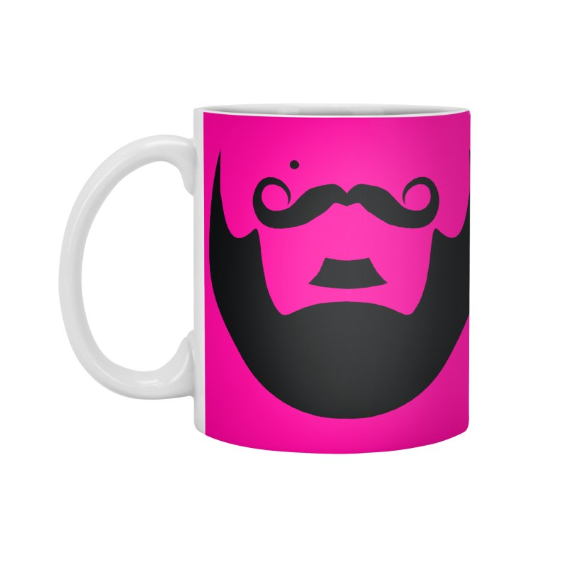 gay face Accessories Standard Mug by Izzy Berdan's Artist Shop