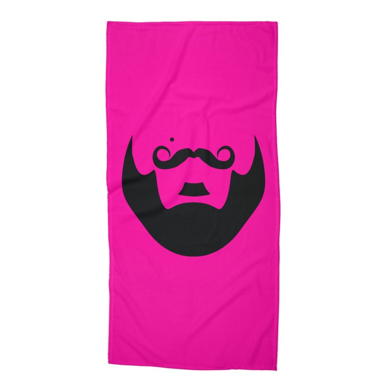 gay face Accessories Beach Towel by Izzy Berdan's Artist Shop