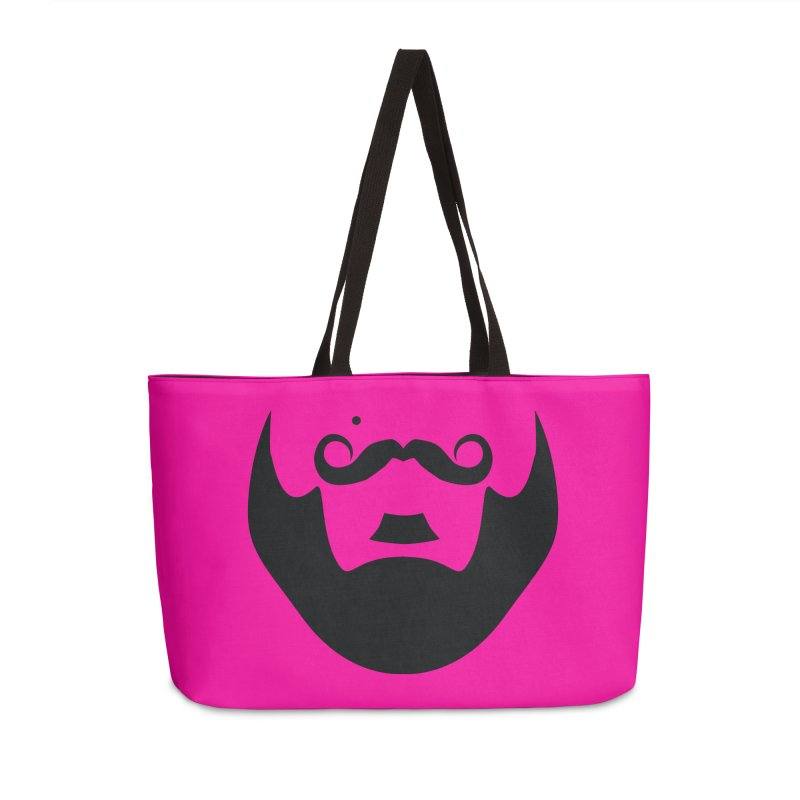 gay face in Weekender Bag by izzyberdan's Artist Shop
