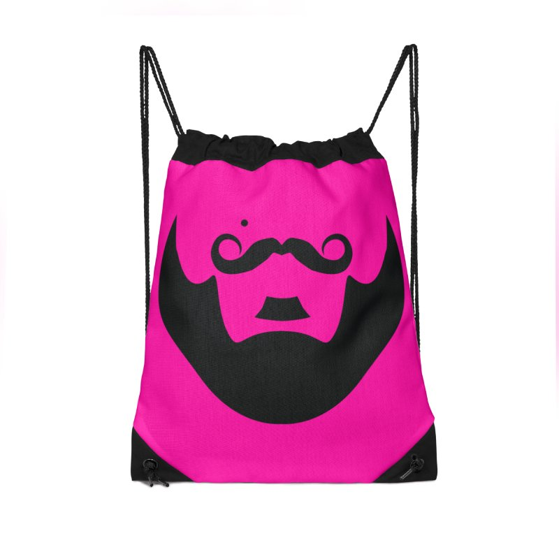 gay face Accessories Drawstring Bag Bag by Izzy Berdan's Artist Shop