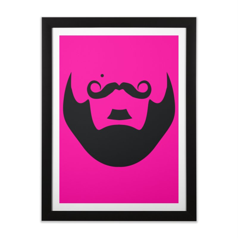 gay face Home Framed Fine Art Print by izzyberdan's Artist Shop