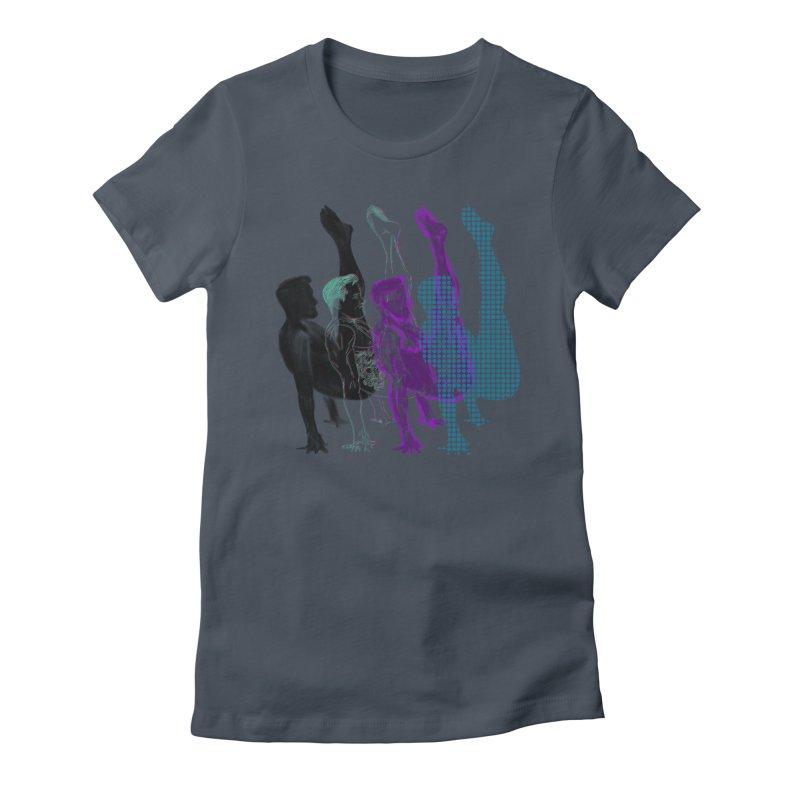popart penguin Women's T-Shirt by Izzy Berdan's Artist Shop