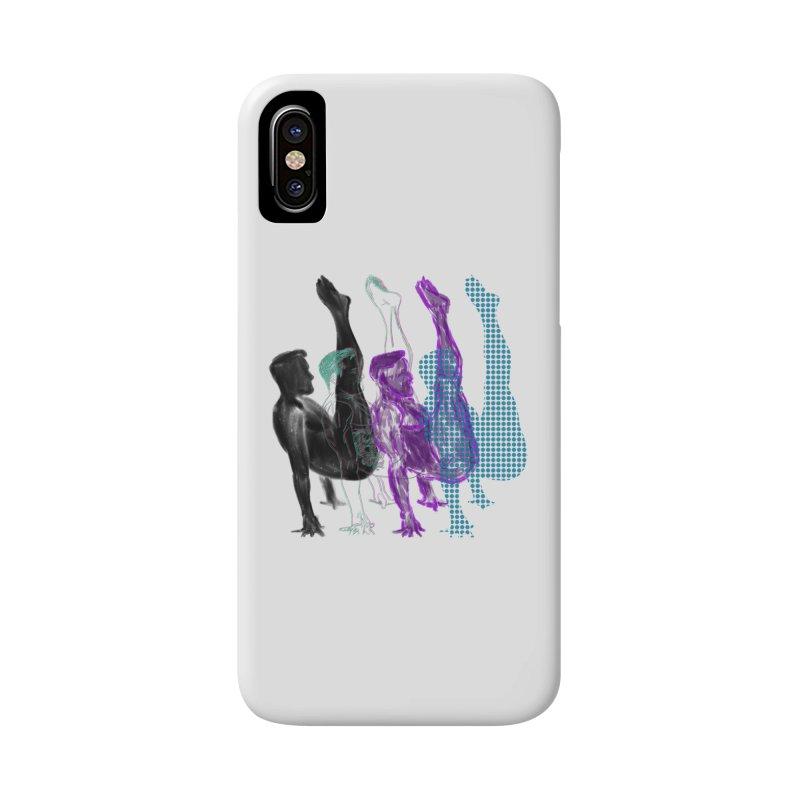 popart penguin Accessories Phone Case by Izzy Berdan's Artist Shop