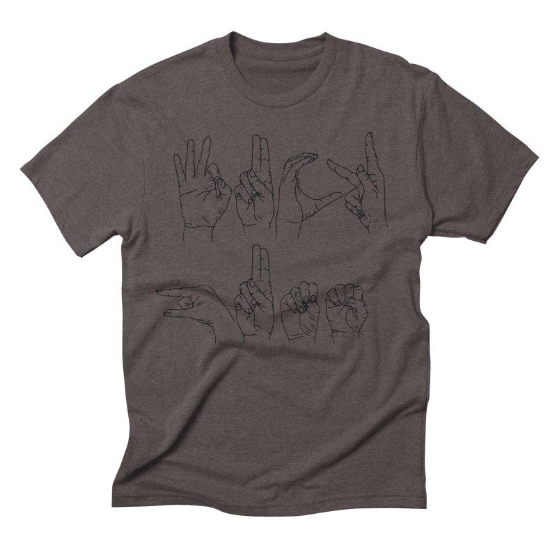 F*UCK GUNS Men's Triblend T-Shirt by izzyberdan's Artist Shop