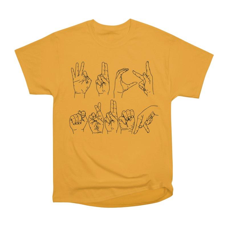 F*CK TRUMP Men's Heavyweight T-Shirt by Izzy Berdan's Artist Shop