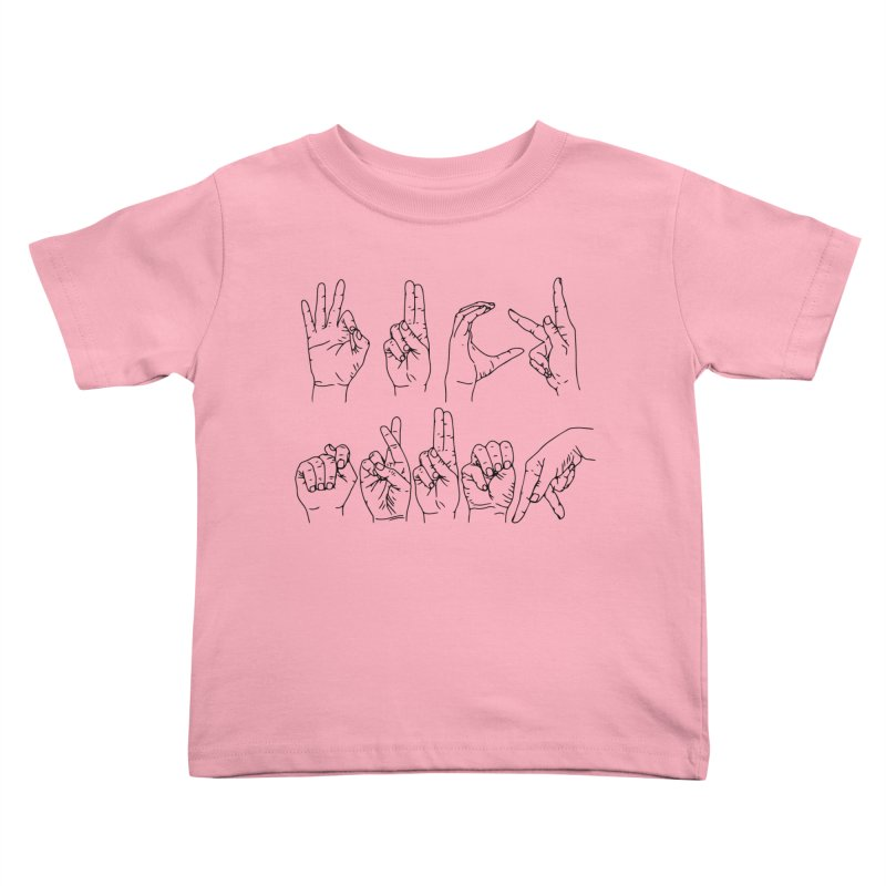F*CK TRUMP Kids Toddler T-Shirt by Izzy Berdan's Artist Shop