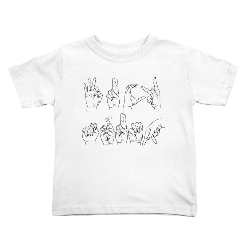 F*CK TRUMP Kids Toddler T-Shirt by Izzy Berdan's Artist Shop