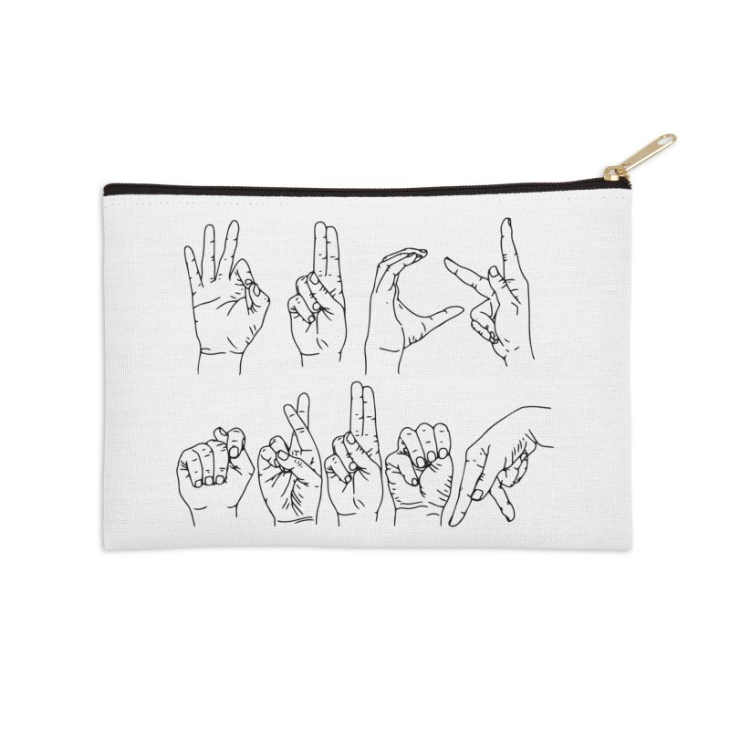 F*CK TRUMP Accessories Zip Pouch by Izzy Berdan's Artist Shop