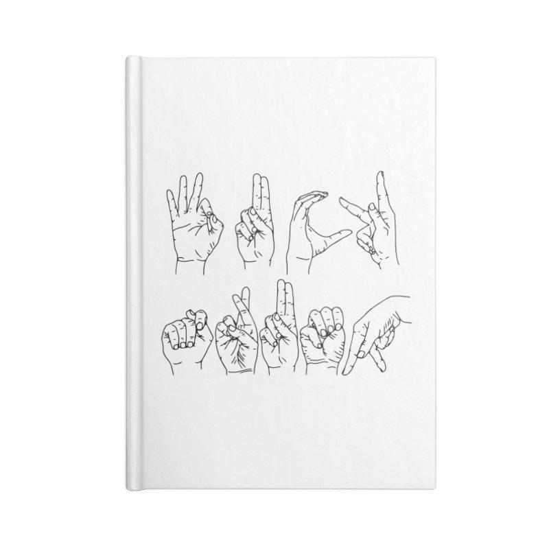 F*CK TRUMP Accessories Lined Journal Notebook by Izzy Berdan's Artist Shop
