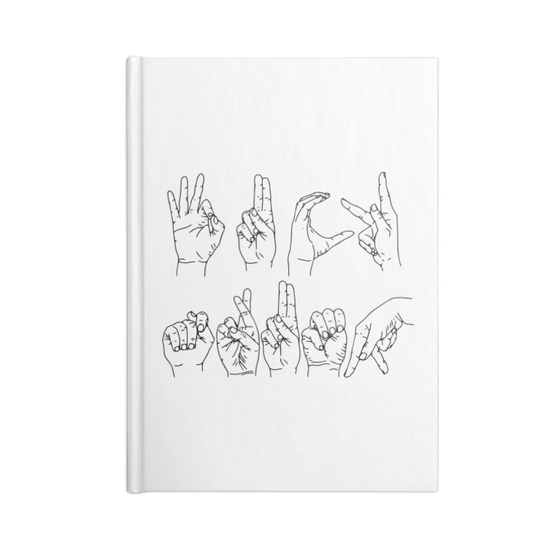 F*CK TRUMP Accessories Blank Journal Notebook by Izzy Berdan's Artist Shop