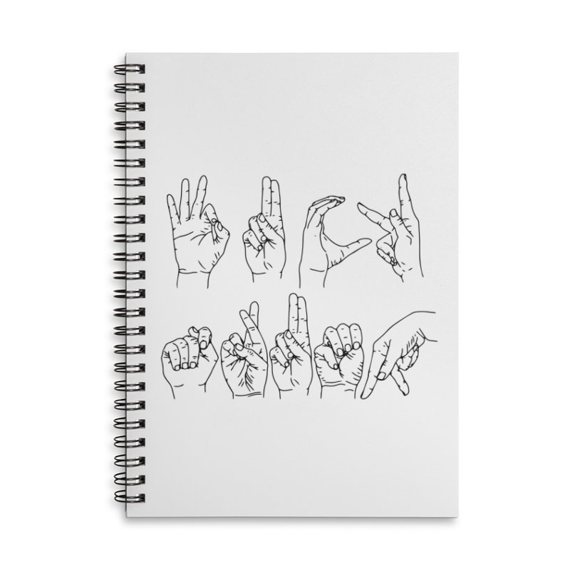 F*CK TRUMP Accessories Lined Spiral Notebook by Izzy Berdan's Artist Shop