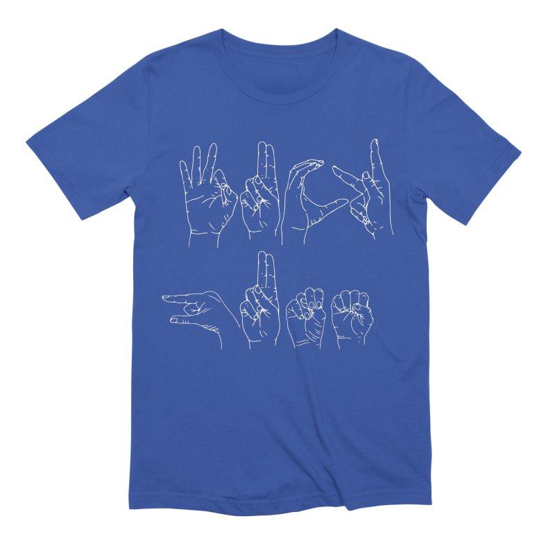 F*CK GUNS white Men's Extra Soft T-Shirt by izzyberdan's Artist Shop