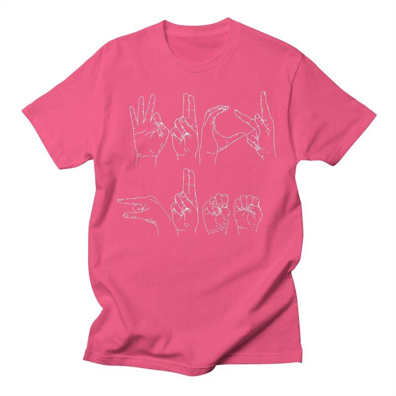 F*CK GUNS white Women's Regular Unisex T-Shirt by izzyberdan's Artist Shop