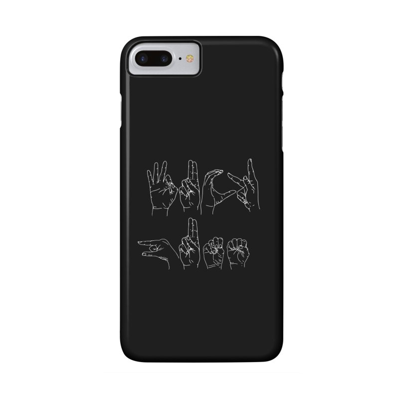 F*CK GUNS white Accessories Phone Case by Izzy Berdan's Artist Shop