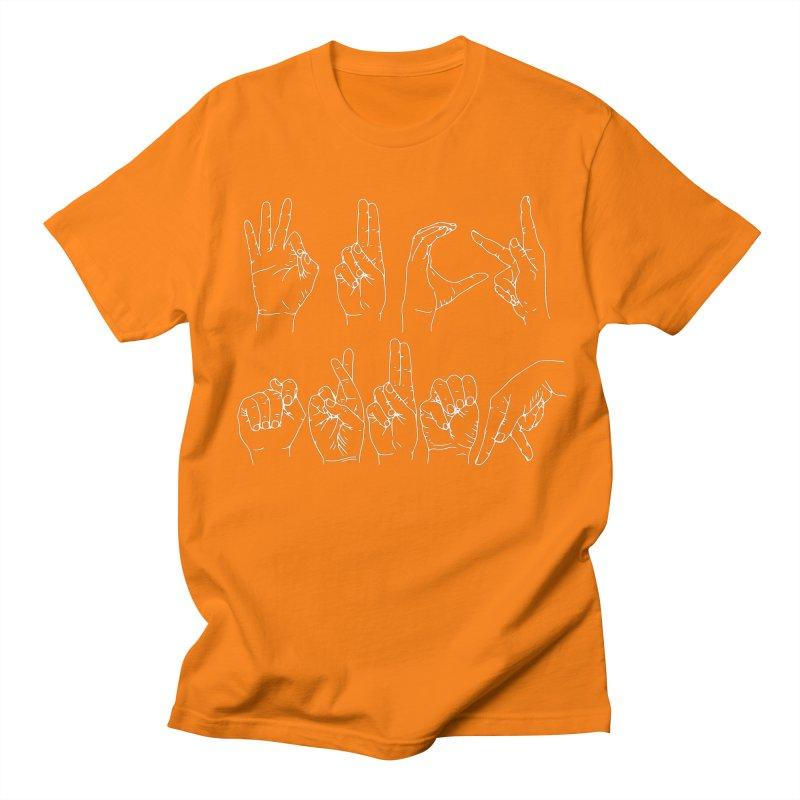 F*CK TRUMP wh Men's Regular T-Shirt by Izzy Berdan's Artist Shop