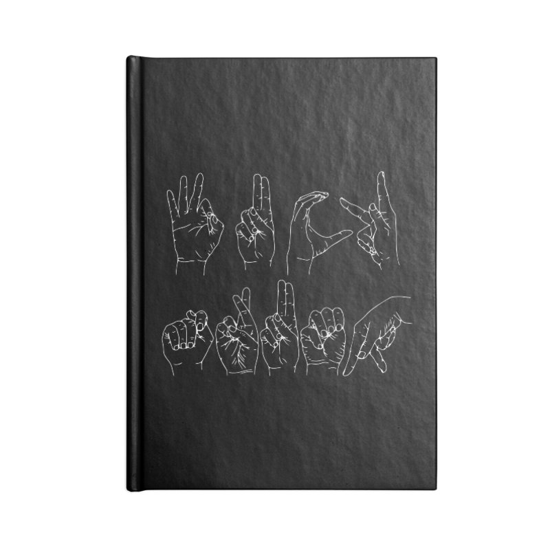 F*CK TRUMP wh Accessories Blank Journal Notebook by Izzy Berdan's Artist Shop
