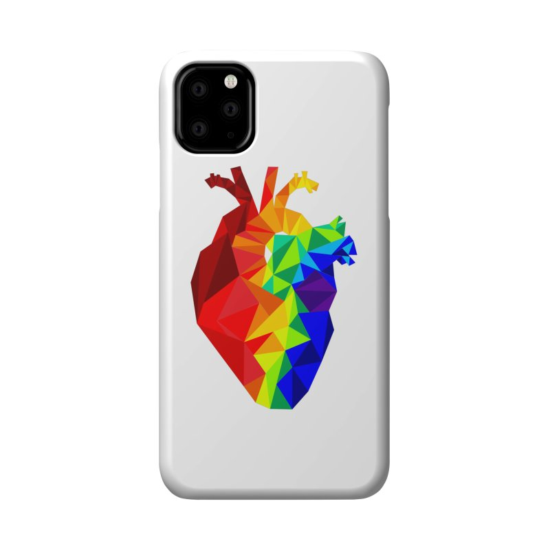 Crystal Heart Accessories Phone Case by Izzy Berdan's Artist Shop