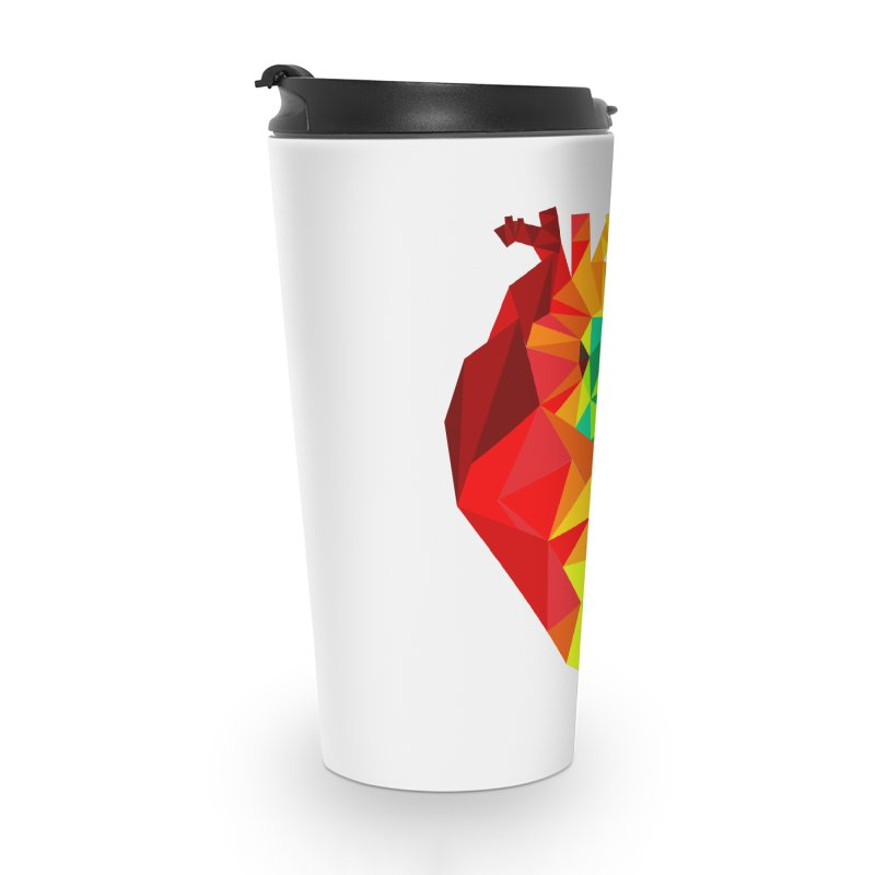 Crystal Heart Accessories Travel Mug by Izzy Berdan's Artist Shop