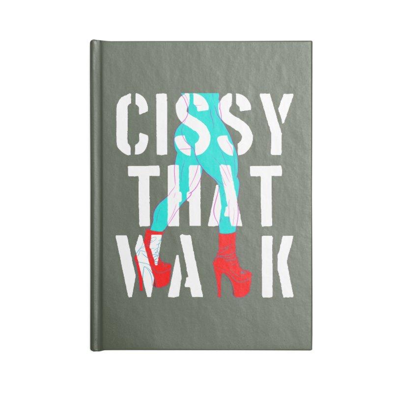 cissy that walk Accessories Notebook by Izzy Berdan's Artist Shop