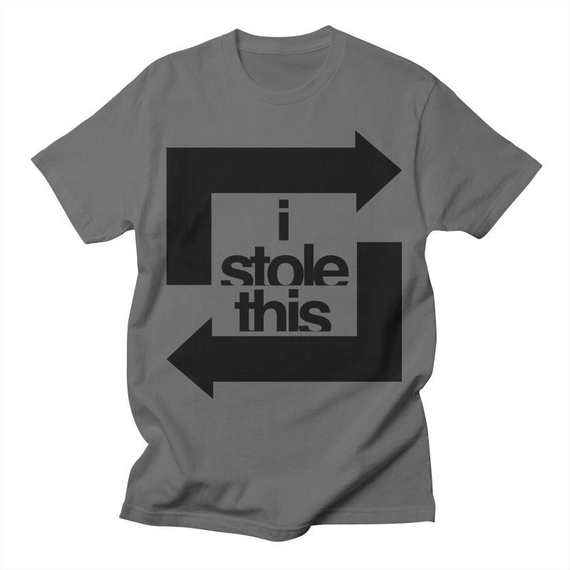 i stole this idea Men's T-Shirt by Izzy Berdan's Artist Shop