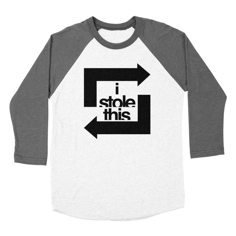 i stole this idea Women's Longsleeve T-Shirt by Izzy Berdan's Artist Shop