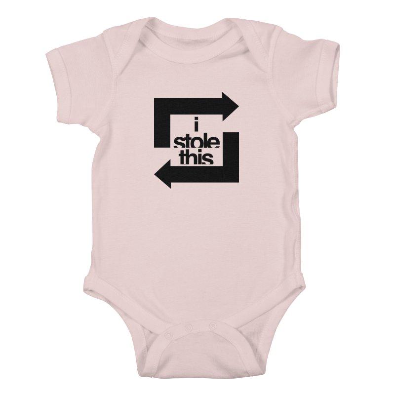 i stole this idea Kids Baby Bodysuit by izzyberdan's Artist Shop
