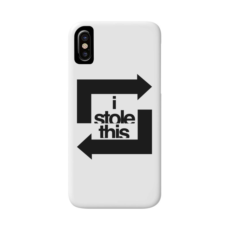 i stole this idea Accessories Phone Case by Izzy Berdan's Artist Shop