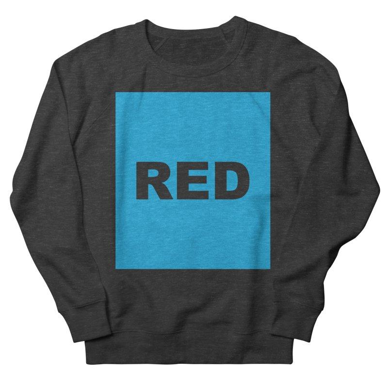 red is blue Women's French Terry Sweatshirt by Izzy Berdan's Artist Shop