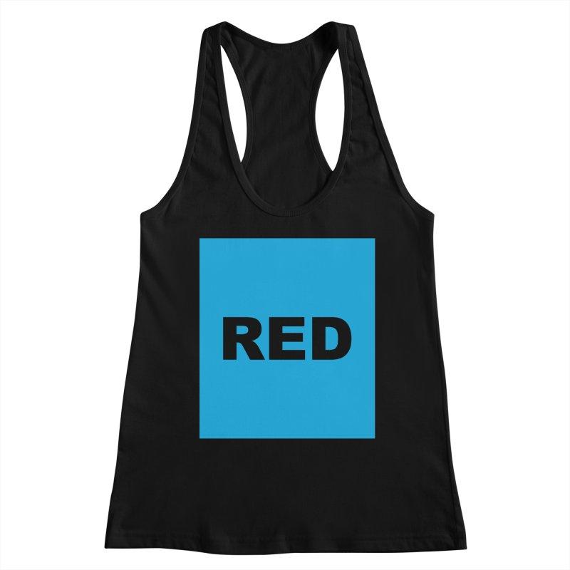 red is blue Women's Tank by Izzy Berdan's Artist Shop