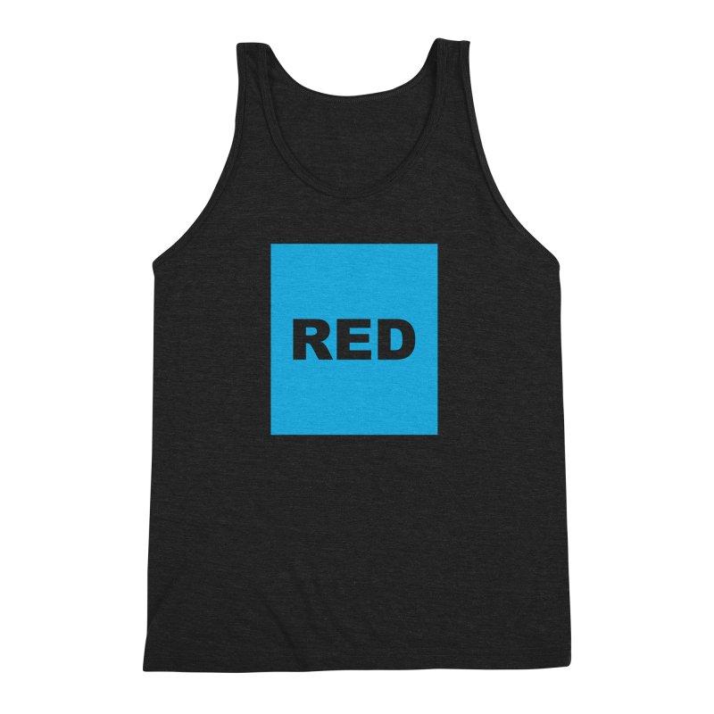 red is blue Men's Tank by Izzy Berdan's Artist Shop
