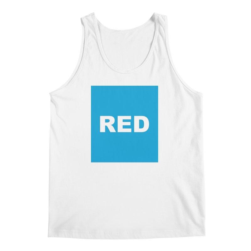red is blue Men's Regular Tank by izzyberdan's Artist Shop