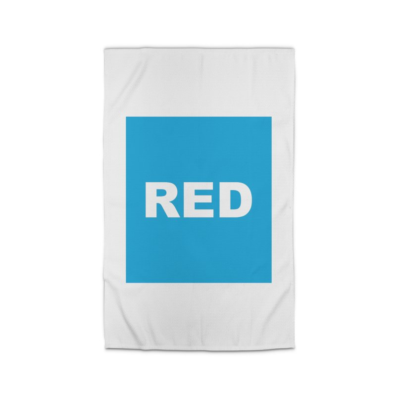 red is blue Home Rug by Izzy Berdan's Artist Shop