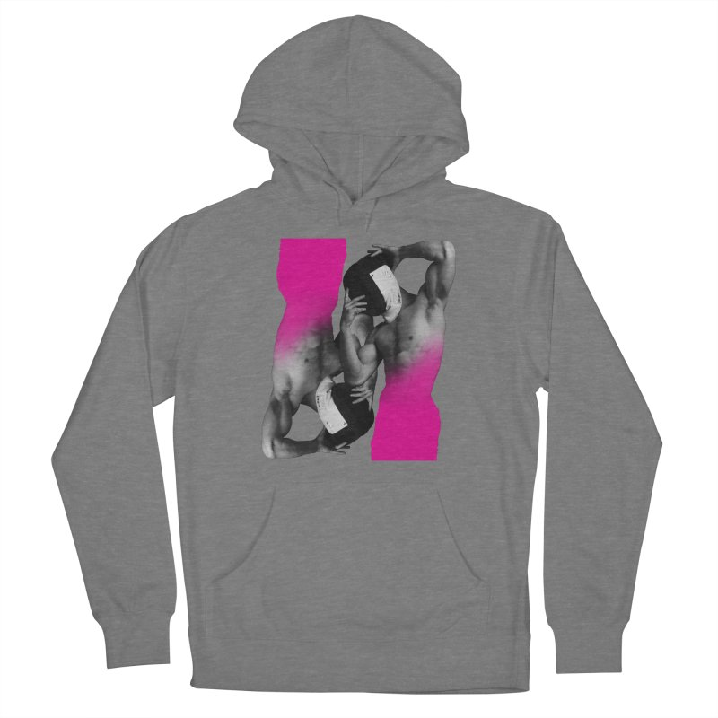 Fade to pink Women's Pullover Hoody by Izzy Berdan's Artist Shop