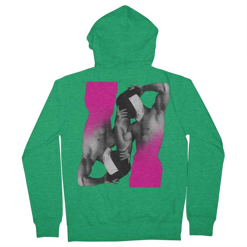 Fade to pink Women's Zip-Up Hoody by Izzy Berdan's Artist Shop