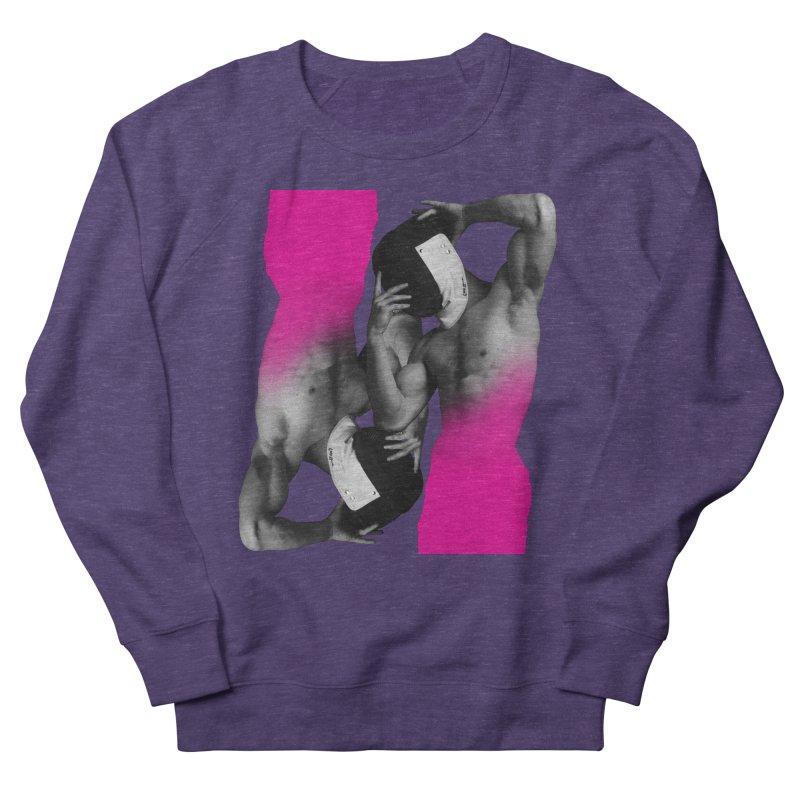 Fade to pink Women's French Terry Sweatshirt by izzyberdan's Artist Shop