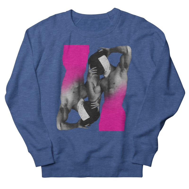 Fade to pink Men's French Terry Sweatshirt by izzyberdan's Artist Shop