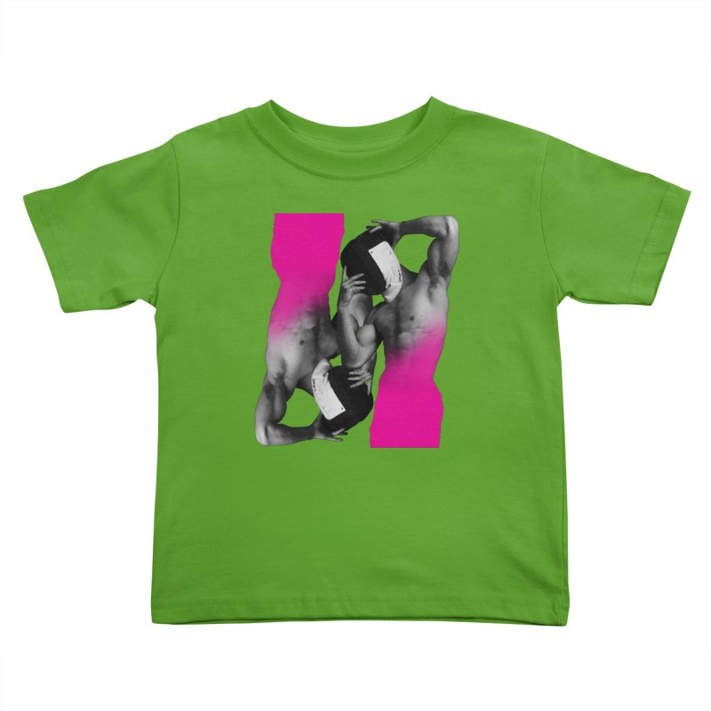 Fade to pink Kids Toddler T-Shirt by Izzy Berdan's Artist Shop