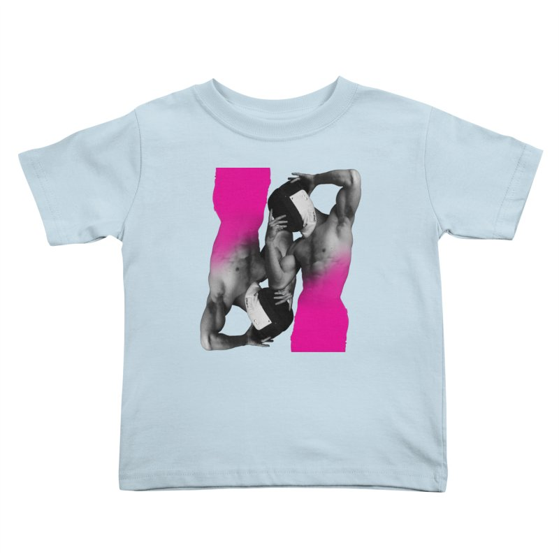 Fade to pink Kids Toddler T-Shirt by izzyberdan's Artist Shop