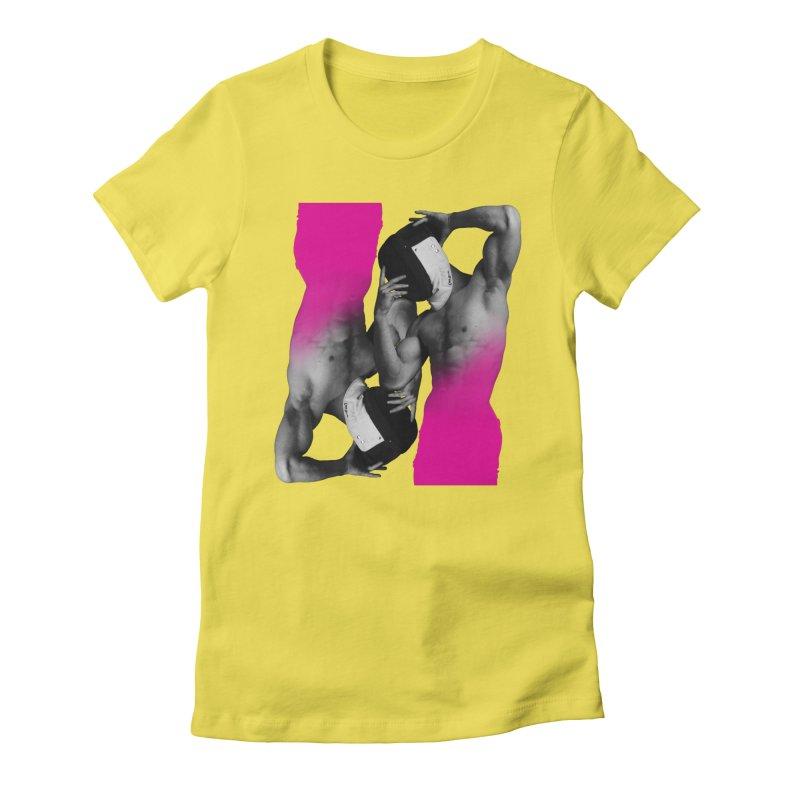 Fade to pink Women's T-Shirt by Izzy Berdan's Artist Shop