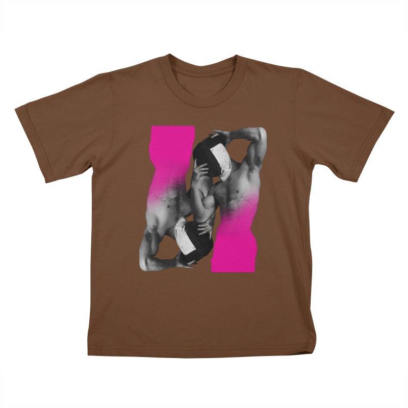 Fade to pink Kids T-Shirt by Izzy Berdan's Artist Shop