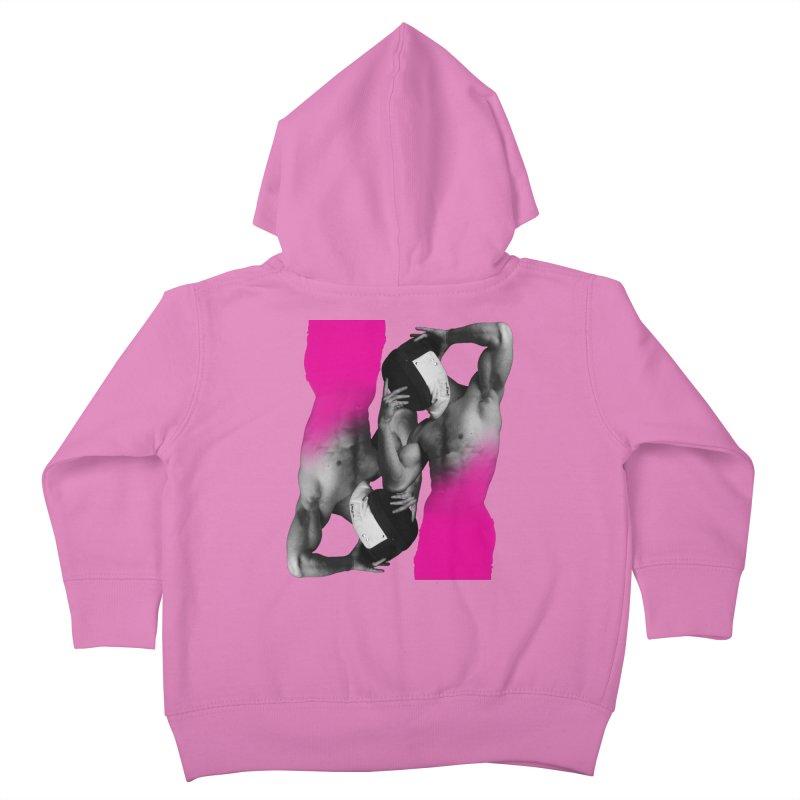 Fade to pink Kids Toddler Zip-Up Hoody by Izzy Berdan's Artist Shop