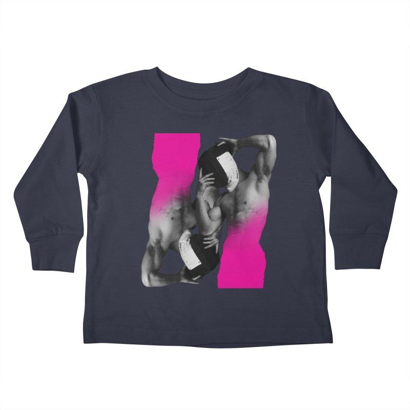 Fade to pink Kids Toddler Longsleeve T-Shirt by izzyberdan's Artist Shop