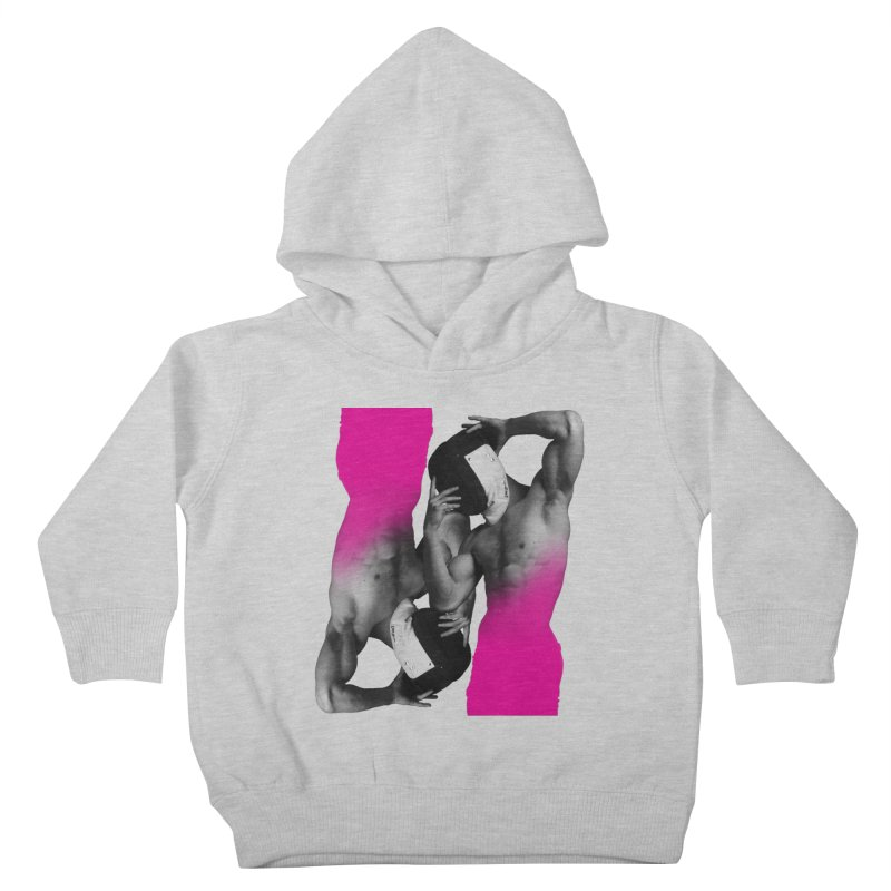 Fade to pink Kids Toddler Pullover Hoody by Izzy Berdan's Artist Shop