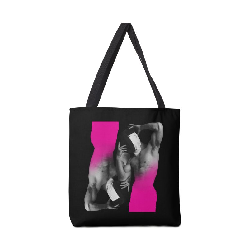 Fade to pink Accessories Bag by Izzy Berdan's Artist Shop
