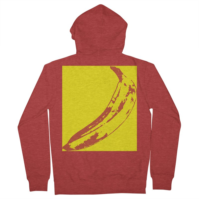 Negative Pop Men's French Terry Zip-Up Hoody by Izzy Berdan's Artist Shop