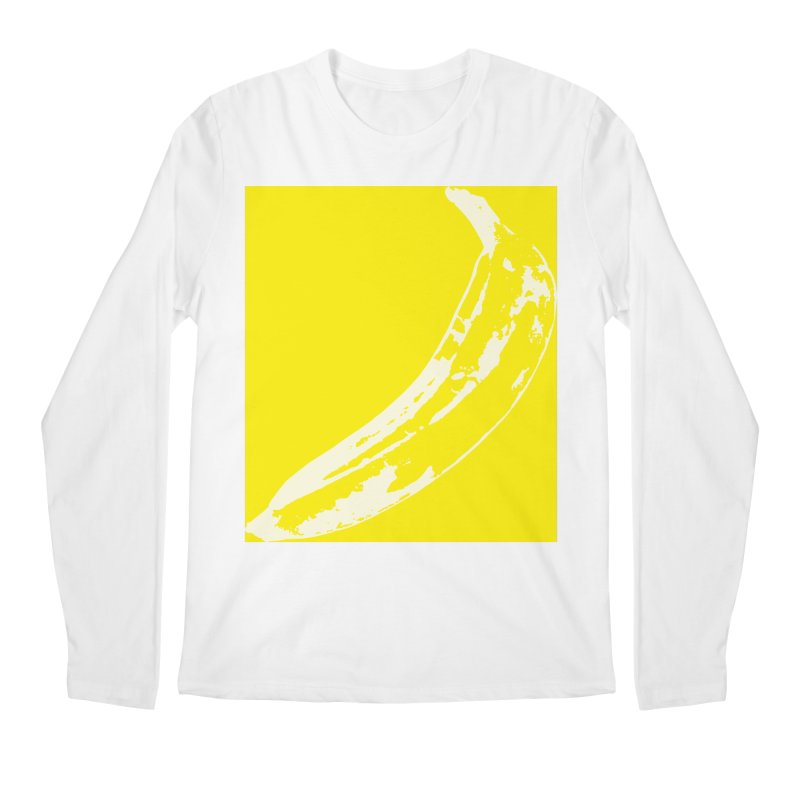 Negative Pop Men's Regular Longsleeve T-Shirt by Izzy Berdan's Artist Shop