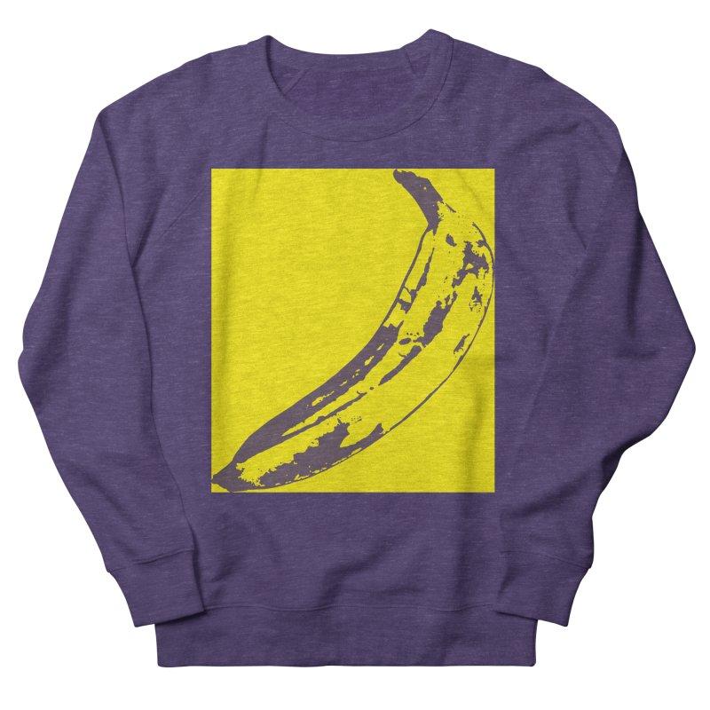 Negative Pop Men's French Terry Sweatshirt by Izzy Berdan's Artist Shop