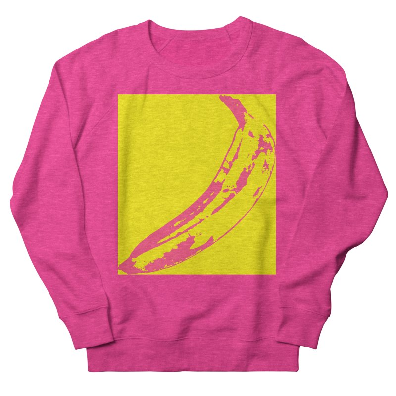 Negative Pop Men's French Terry Sweatshirt by Izzy Berdan's Artist Shop