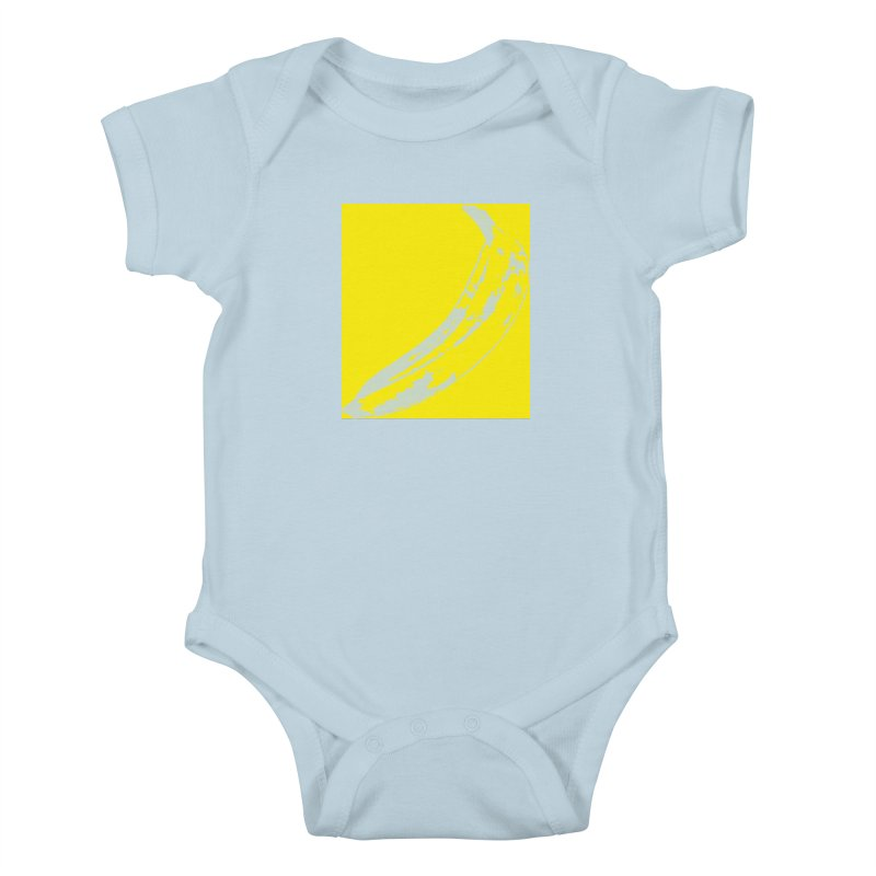 Negative Pop Kids Baby Bodysuit by Izzy Berdan's Artist Shop