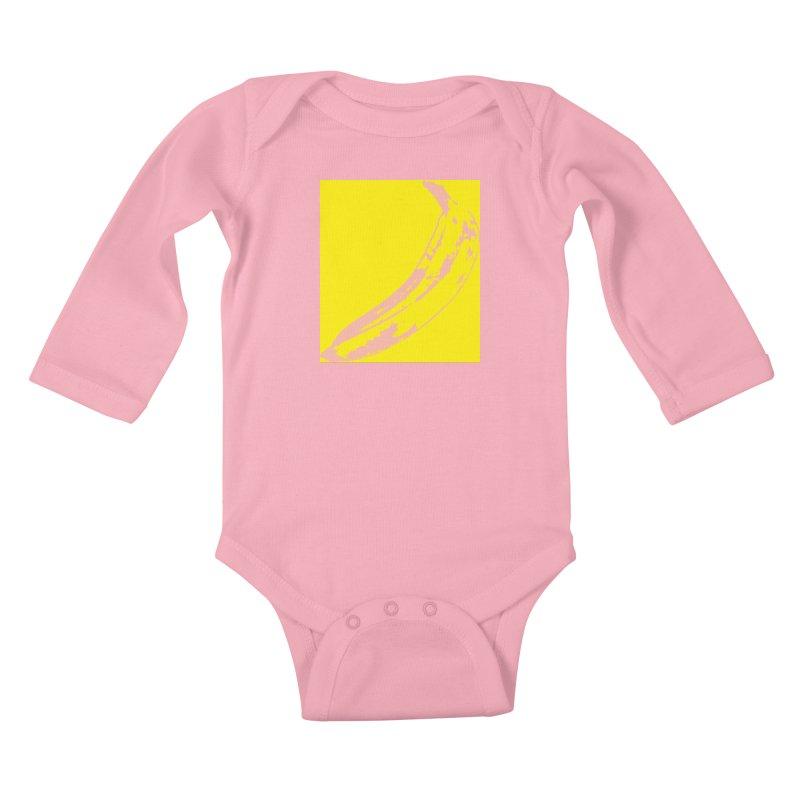 Negative Pop Kids Baby Longsleeve Bodysuit by Izzy Berdan's Artist Shop